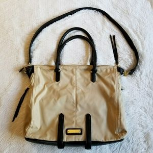 STEVE MADDEN | Authentic Cream and Black Satchel